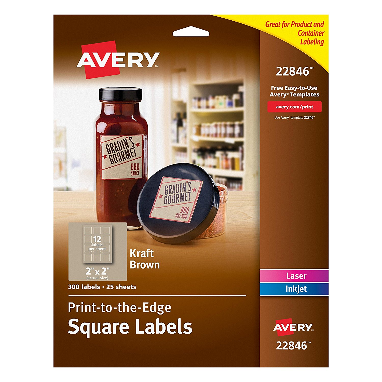 picture regarding Avery Printable Tags With Strings named avery printable labels 91tgorh2asl. sl1500 - Supreme Label Company