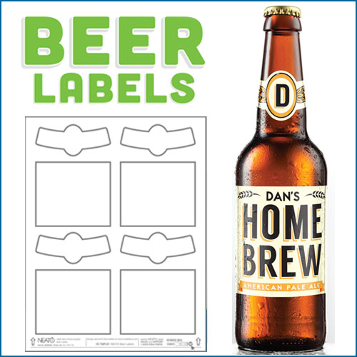 beer bottle label template word beer 40 top label maker