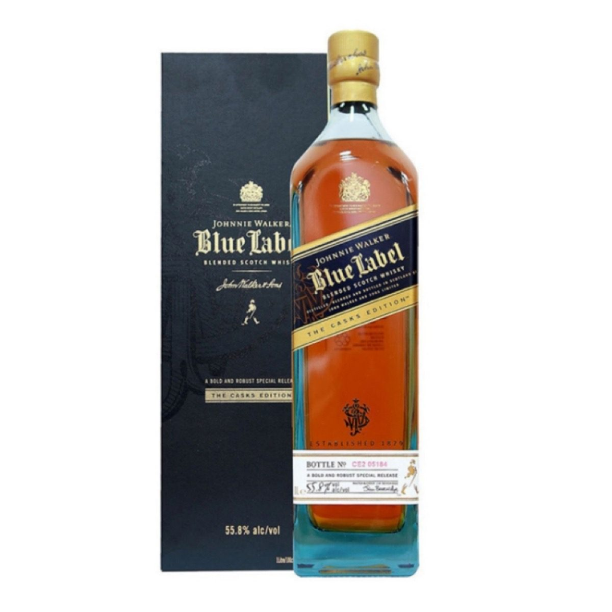 This is a picture of Universal Price of Blue Label in Mumbai Duty Free
