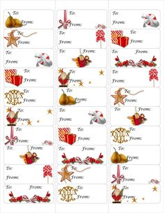 image regarding Avery Printable Tags called xmas return cover labels template avery 5160