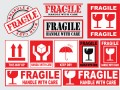 Fragile This Side Up Labels