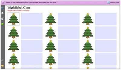 free holiday address labels templates top label maker