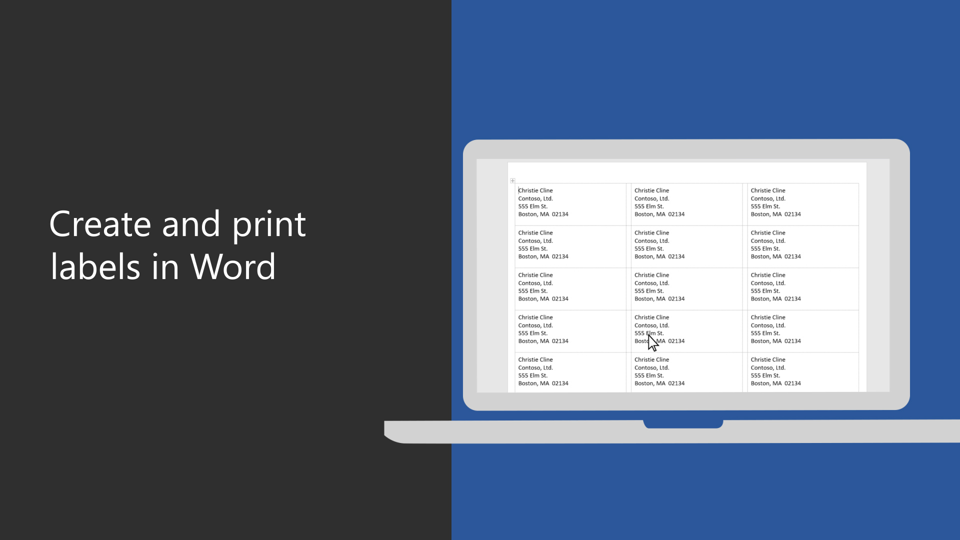 how to print labels in word hqdefault