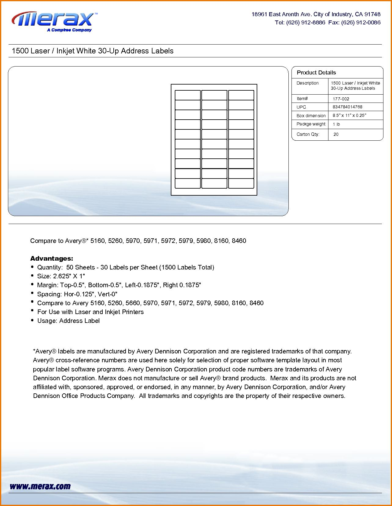 avery label template 5260 5260 label template address labels 30 per