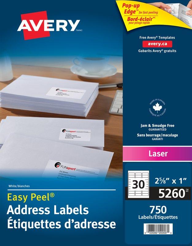 avery label template 5260