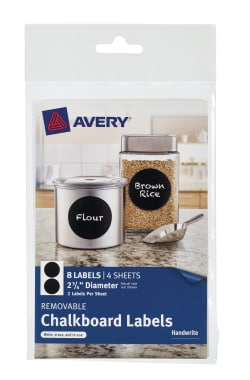 avery removable chalkboard labels top label maker