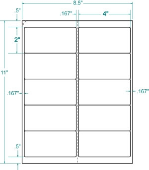Avery Shipping Labels 8163 Template Label 2 Moreover Compatible 100 White Sheets 1 000