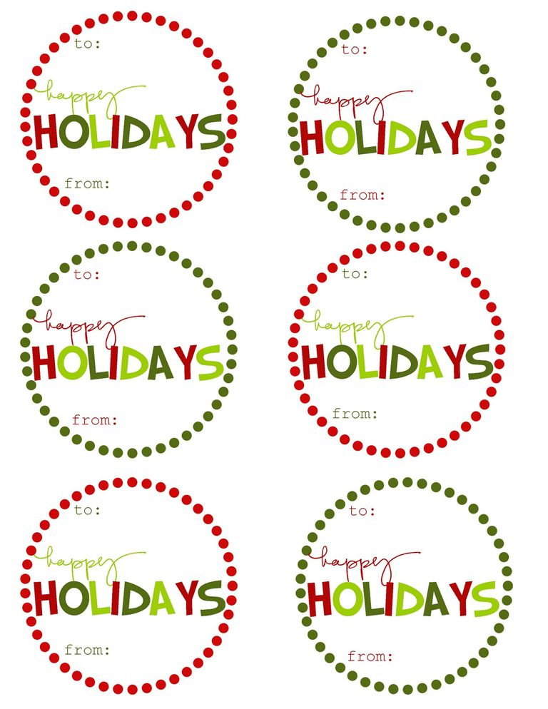 Christmas Gift Labels Free Free Printable Blank Christmas Labels