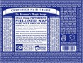 Dr Bronner Soap Label