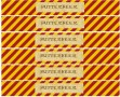 Free Printable Butterbeer Labels