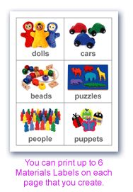 graphic relating to Free Printable Classroom Labels With Pictures named absolutely free printable clroom labels for preschoolers