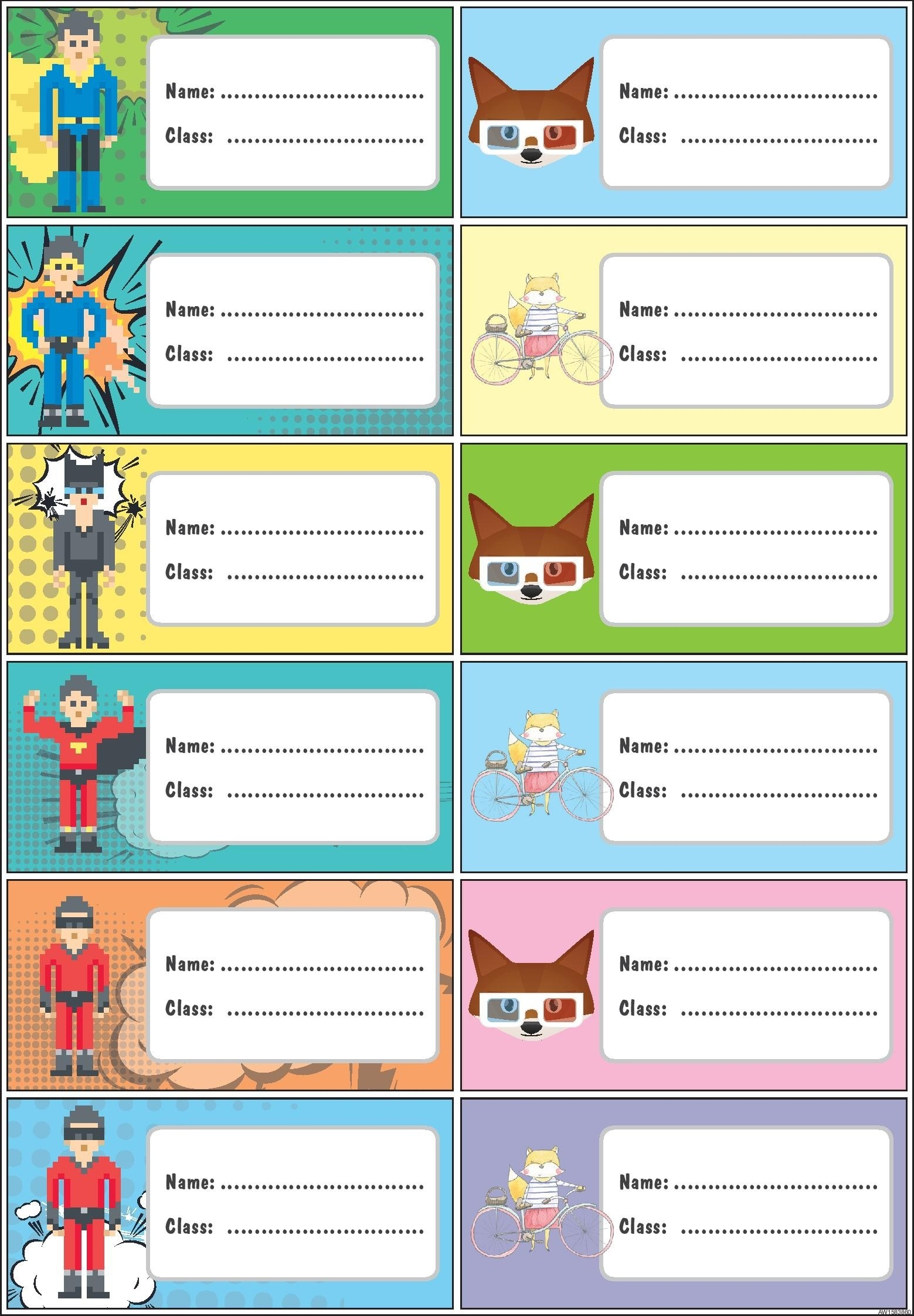free printable name labels for school top label maker