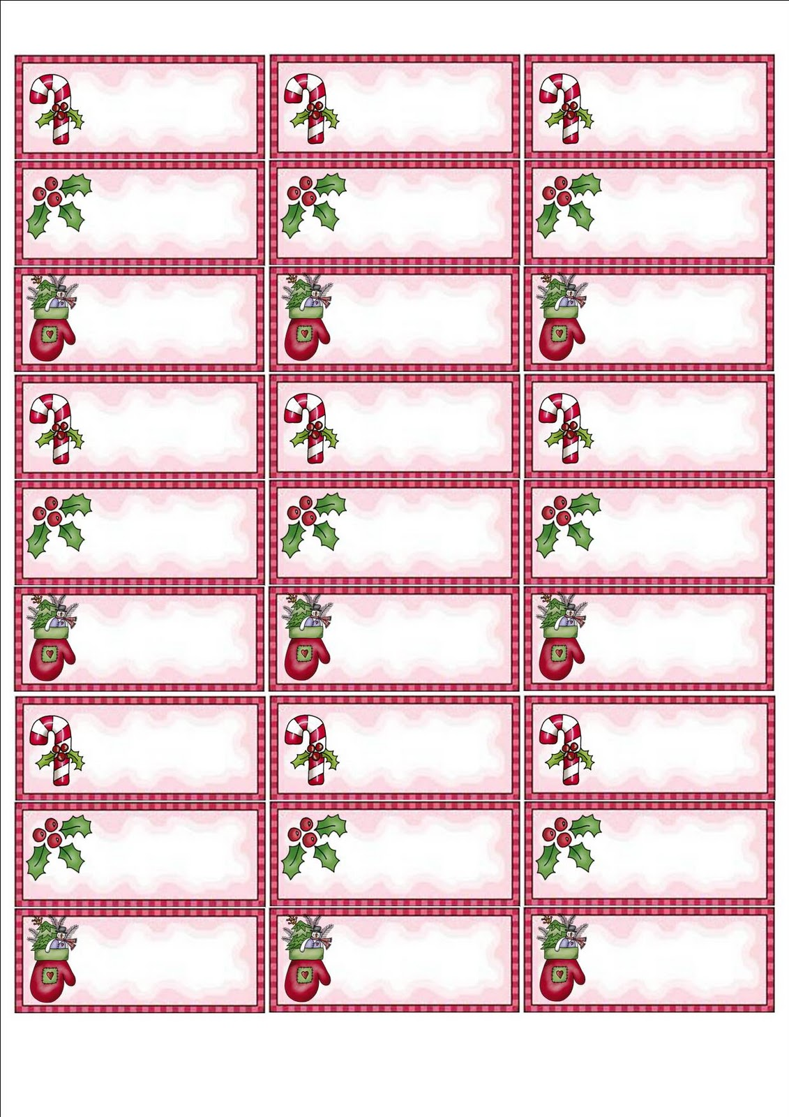 holiday mailing labels avery 5160 christmas address labels 125292