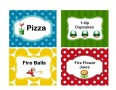 Mario Food Labels
