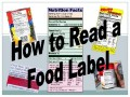 Nutrition Label Lesson Elementary