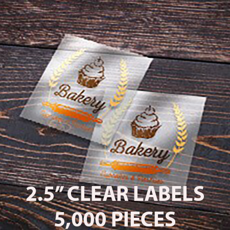 order clear labels 2 5 clear square label 5000 grande - Top