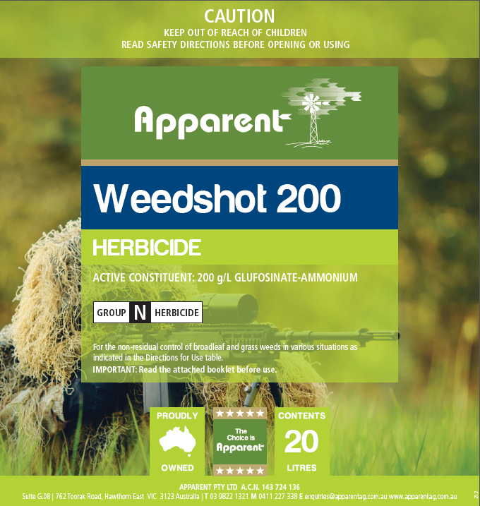 This is a graphic of Lively Apparent Ravage Herbicide Label