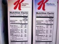 Special K Nutrition Label