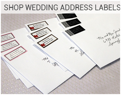 Address Label Stickers Wedding
