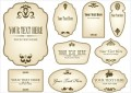 Antique Bottle Labels