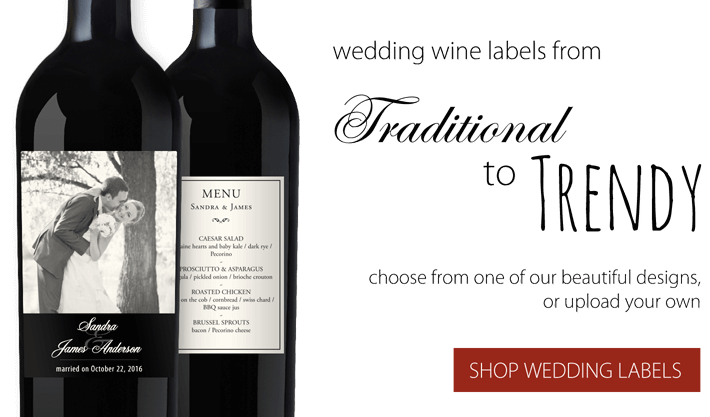 Wedding Wine Labels.Design Your Own Custom Wine Bottle Labels Wedding Wine Labels