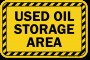 Used Oil Labels