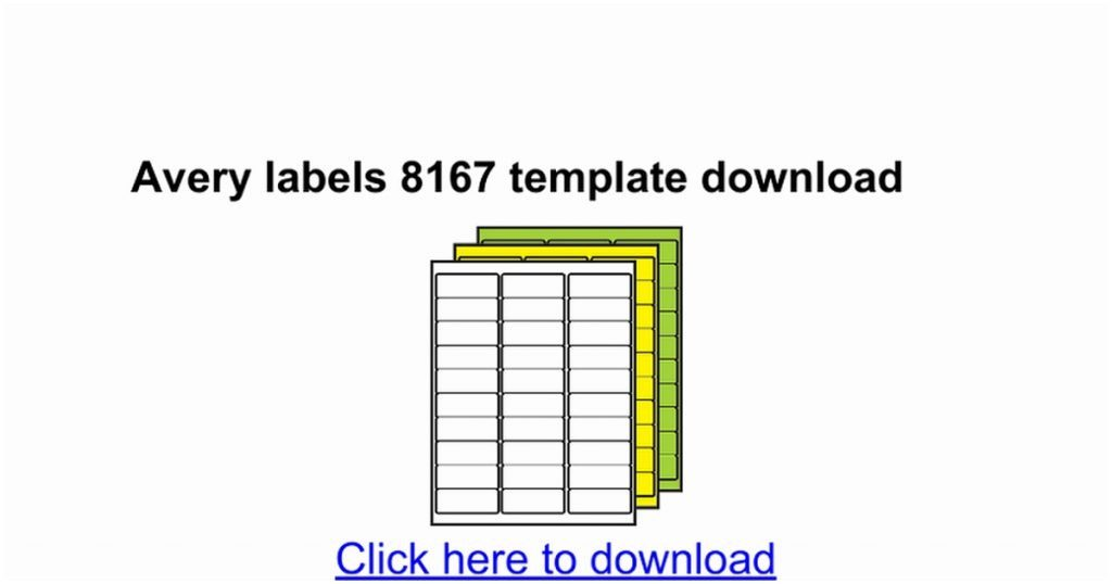 8167 label template
