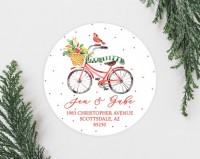 Cute Christmas Address Labels