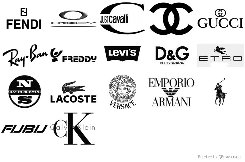 Fashion Label Logos List Designer Label Logos 0 Beautiful