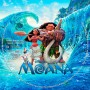 Moana Dvd Label