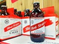 Red Stripe Beer Label