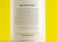 Wine Back Label Text
